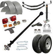 T1108 - 3.5 Single Axle TK Trailer kit