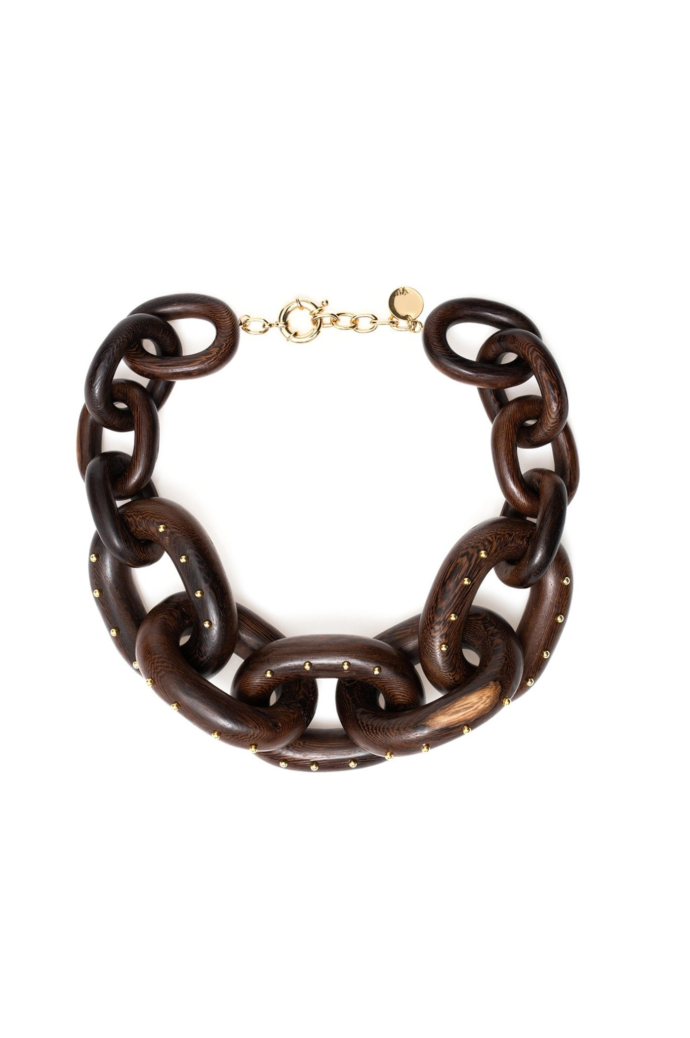 WOOD CHAIN CHOKER
