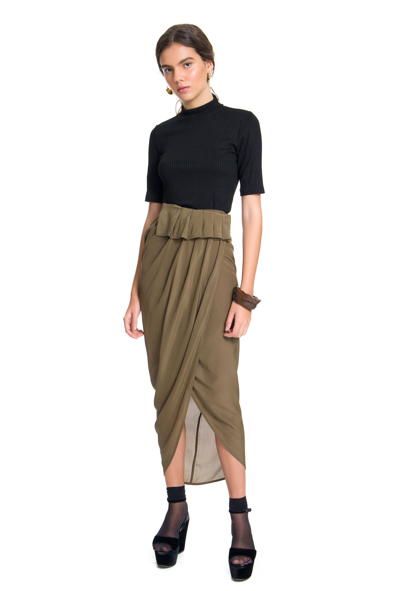 MILITARY ENVELOPE SKIRT