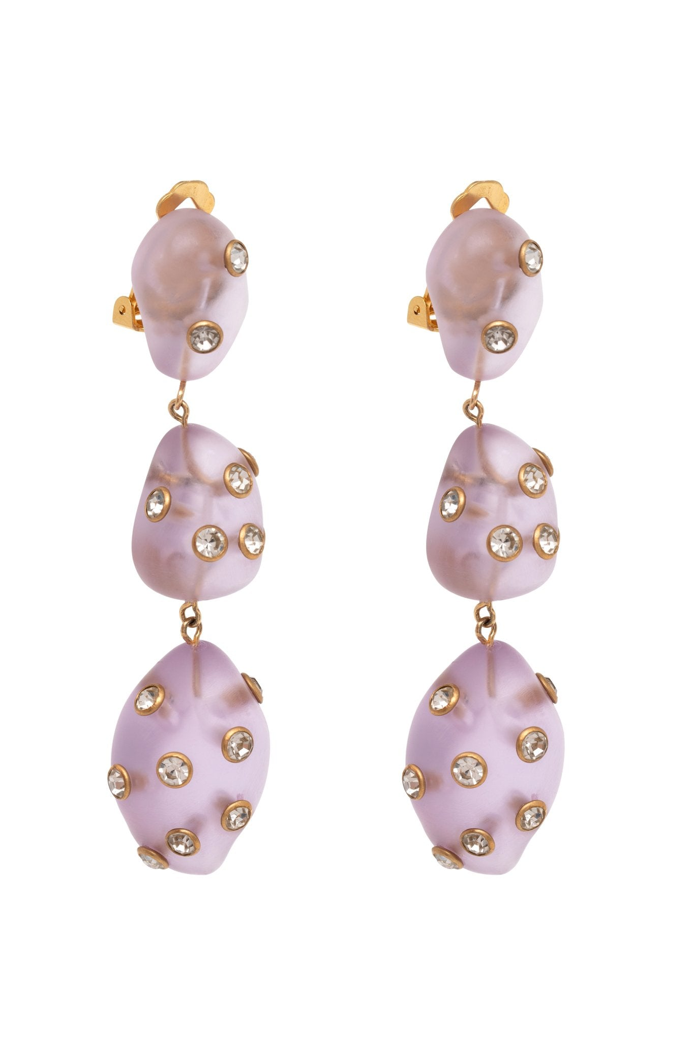 LILAC ARTSY EARRINGS