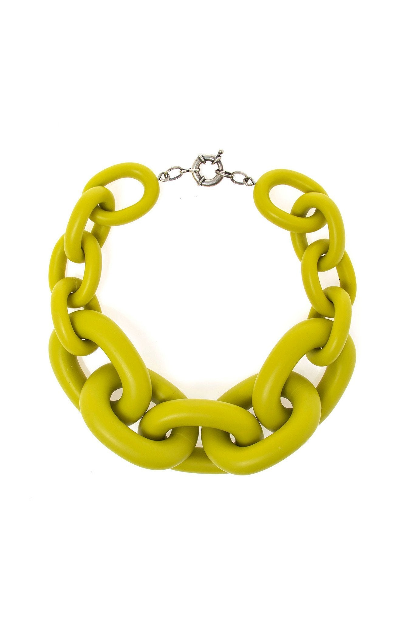 BIG AVOCADO CHAIN CHOKER