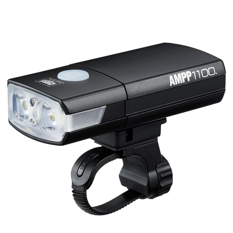 Cateye Ampp1100 Front Light El-1100Rc Black | Onya Canberra | Online Bike Shop