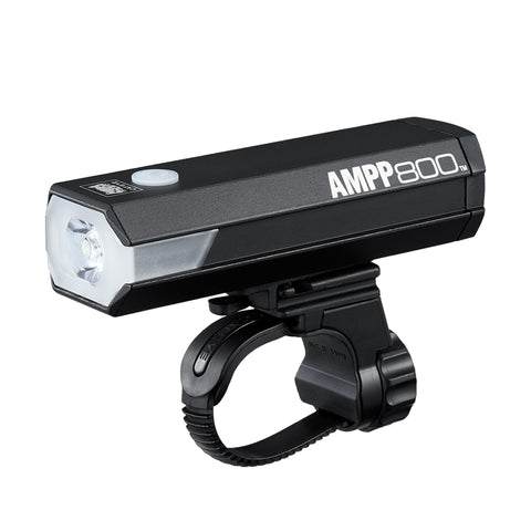 Cateye Ampp800 Front Light El-088Rc Black | Onya Canberra | Online Bike Shop
