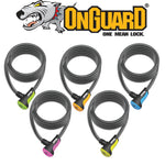 OnGuard Neon Lock (8mm) | Onya Canberra | Bike Shop | Online Bike Store