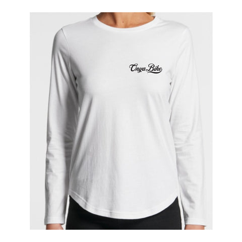 Womens Old Skool Long Sleeve Tee