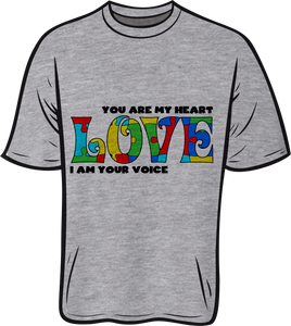 Autism Puzzle Love Short sleeve T shirt