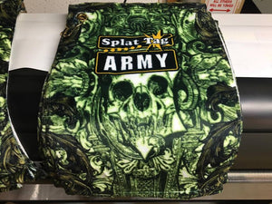 "Splat Tag Army 11"" x 18"" Microfiber Towel"