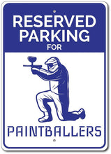 Load image into Gallery viewer, PAINTBALL AND AIRSOFT FULL COLOR EXTERIOR ALUMINUM SAFETY SIGNS