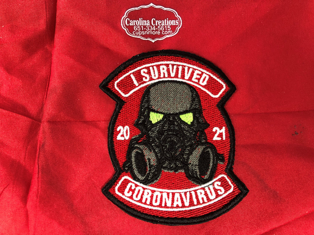 I Survived Covid 2021 (a) Embroidered Patch
