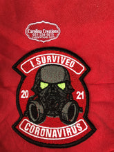 Load image into Gallery viewer, I Survived Covid 2021 (a) Embroidered Patch