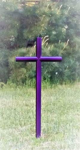 Everlasting Cross pet urns memorial markers garden