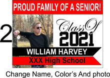 Load image into Gallery viewer, Graduation Yard signs