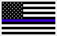 Load image into Gallery viewer, Thin Blue Line sticker