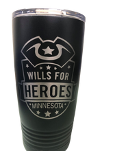 Load image into Gallery viewer, Wills for Heroes Minnesota 20oz Tumbler