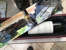 Load image into Gallery viewer, Wood Wine Bottle Gift Box