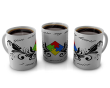 Load image into Gallery viewer, autism Awareness, coffee cup ,shirt