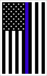 Thin Blue Line sticker