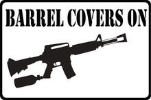 Load image into Gallery viewer, Paintball and Airsoft metal safety signs