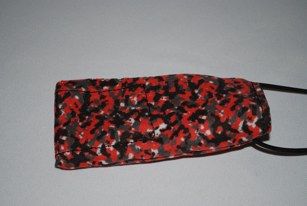 Black And Red Camo Barrel cover