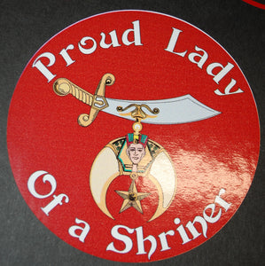 Proud Lady Of A Shriner