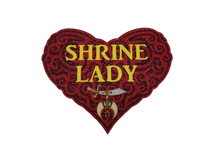 Load image into Gallery viewer, Shrine Lady Glitter Heart Shirt