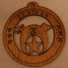 Load image into Gallery viewer, shriner 2 laser cut ornament