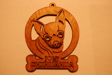 Load image into Gallery viewer, CHIHUAHUA LASER CUT Dog Ornament