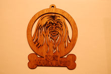 Load image into Gallery viewer, LHASA APSO LASER CUT Dog Ornament