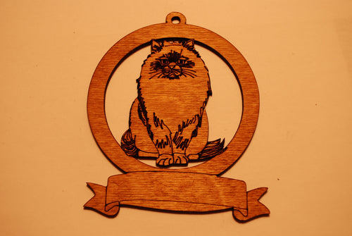 LASER CUT CAT 5 Ornament