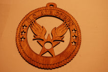 Load image into Gallery viewer, U.S. AIR CORPS LASER CUT ORNAMENT