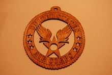 Load image into Gallery viewer, UNITED STATES AIR CORPS LASER CUT ORNAMENT