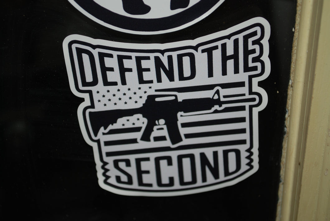 Defend the second  Sticker