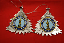 Load image into Gallery viewer, Army National Guard Plastic Tree or Wreath  Shaped Ornament