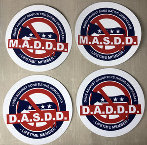 Against Son/daughter Dating Dem's sticker