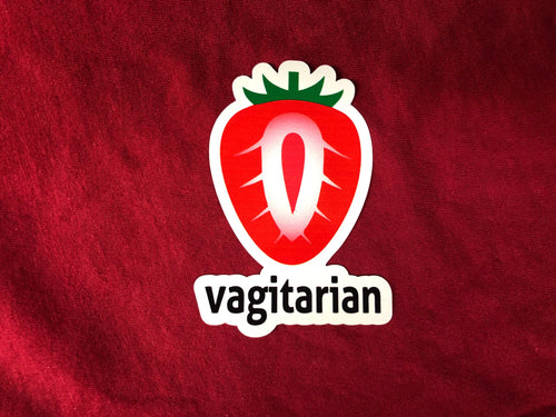 Vagitarian Sticker