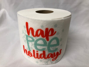 christmas  Novelty Toilet Paper
