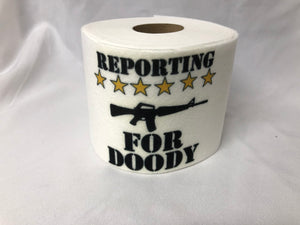 Military Novelty Toilet Paper