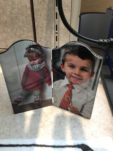 Double Hinged Photo Panel
