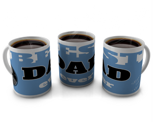 Best dad ever coffee cup