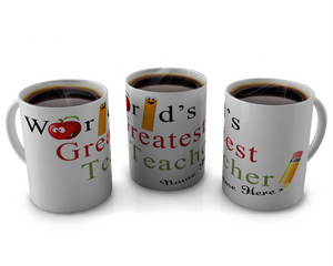 Teacher coffee Mugs design 1