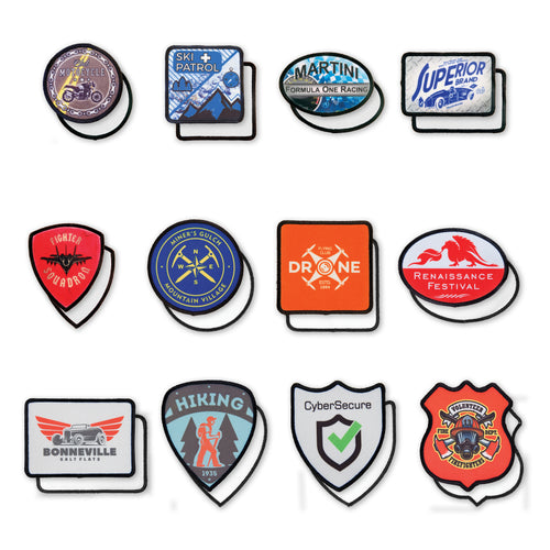 Dye Sublimation Custom Patches