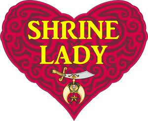 Shrine Lady Glitter Heart Shirt