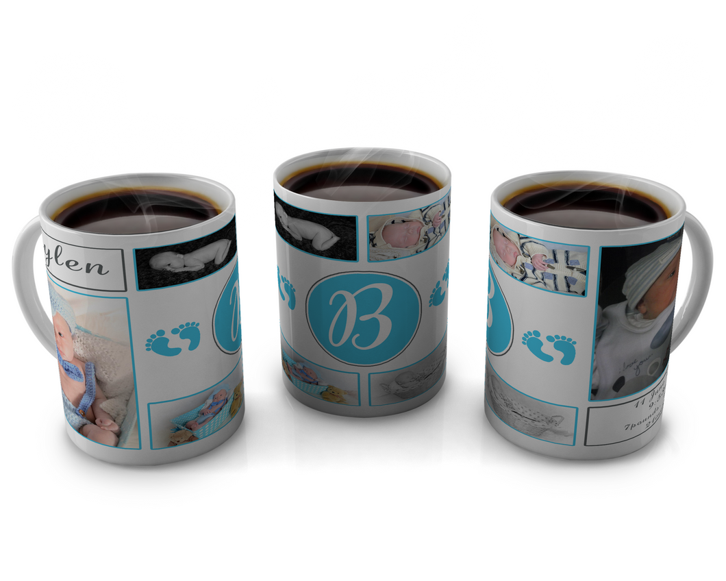 Birth Announcement Coffee mug Design 23