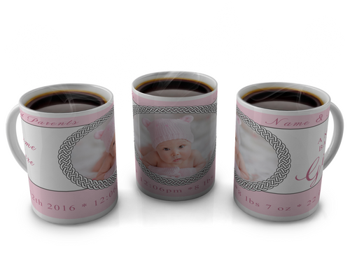 Birth Announcement Coffee mug Design 20
