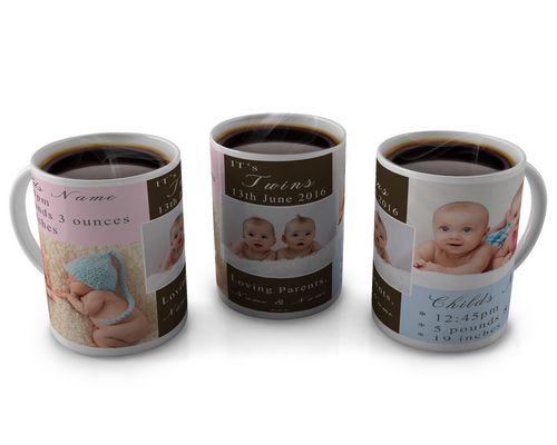 Birth Announcement Coffee mug Design 18