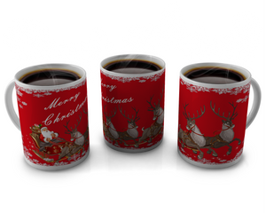 Christmas Coffee cup Design 3