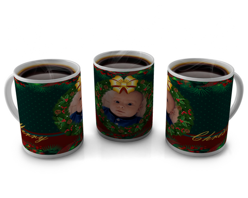 Christmas Coffee cup Design 4