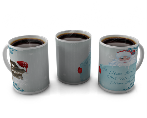 Christmas Coffee cup Design 5