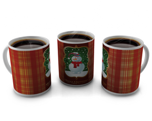 Christmas Coffee cup Design 6