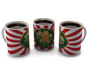 Christmas Coffee cup Design 7